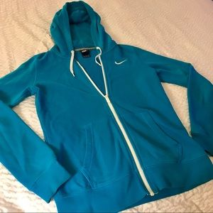 Nike Zip Up Hoodie Size Small
